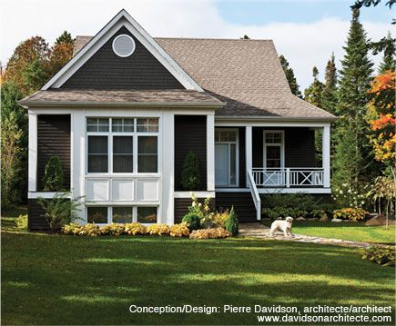 007 Maibec Ultra White 001 Terra Colours Maibec Wood Siding And Shingles Hematite Cottage Exterior Siding Colors For Houses Cedar Shingles