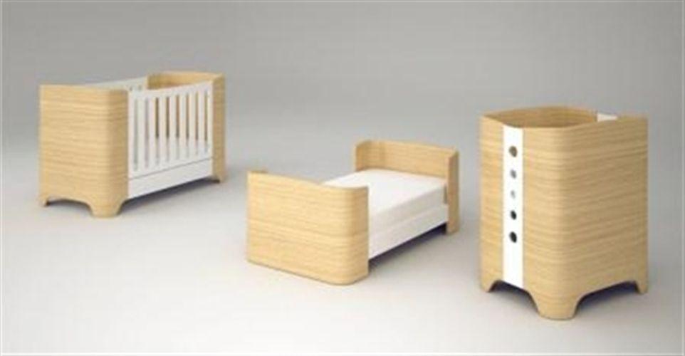 Κρεβάτια-κομοδίνα-μετατρεπόμενα : Πολυμορφικό κρεβάτι Harmony Casa baby - οξιά