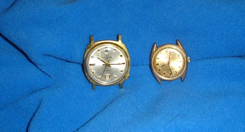 Men's Vintage Watch Lot - TRESSA & AMERICAN TIME
