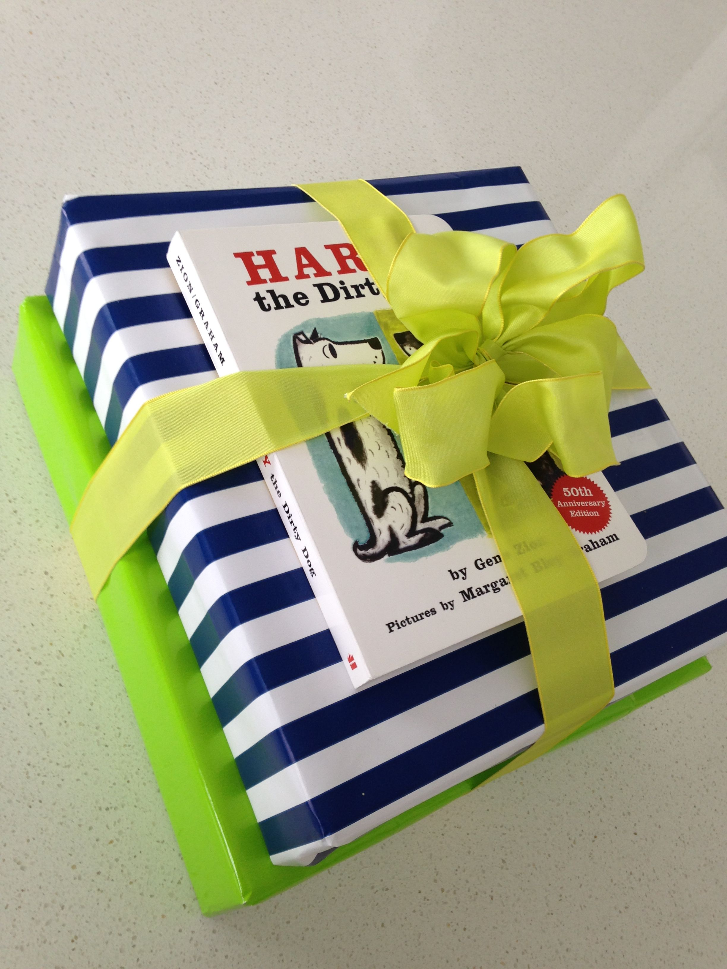 Birthday present for kid or baby baby or kid wrapping