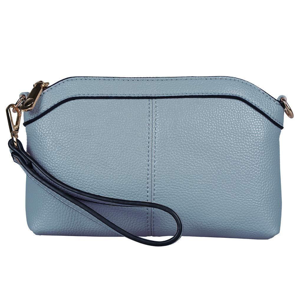 Crossbody Bag Purse Diter Womens Leather Wristlet Zipper Clutch Wallet