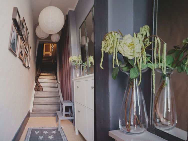 Entrée en escalier Entry stairs - entree de maison avec escalier