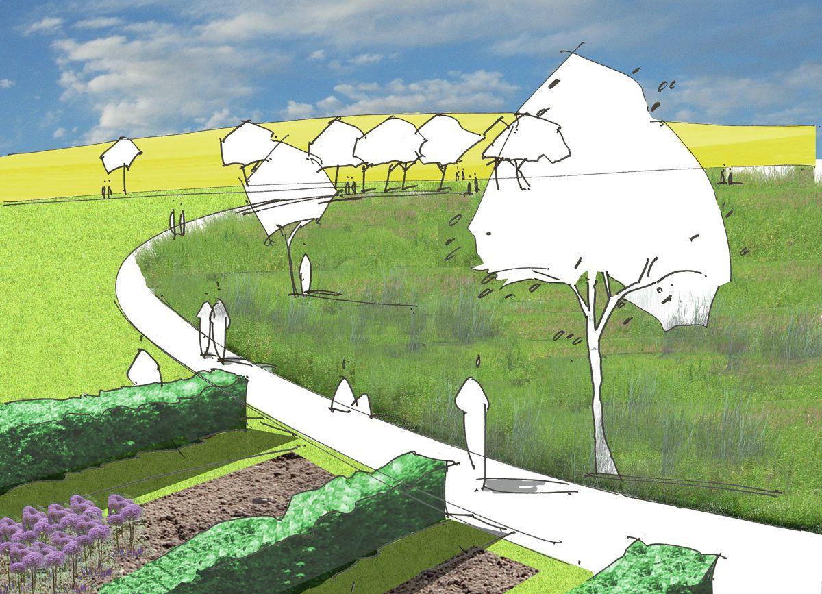 17 best images about garden drawing design on pinterest | gardens, Garten Ideen