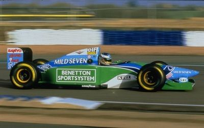 Michael Schumacher, Mild Seven Benetton-Ford B194, 1994 F1 World Championship
