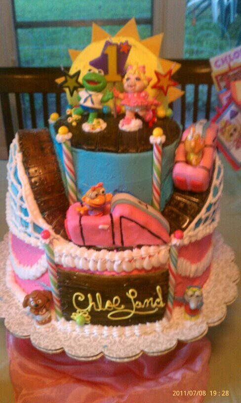 Muppet Babies Cake Stuff To Try Muppet Babies Baby