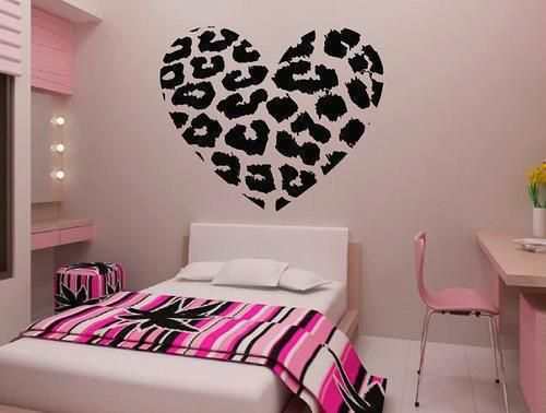 Leopard Print Wall Decal