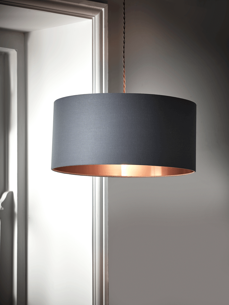 Grey Copper Shade Ceiling Lights Living Room Bedroom Ceiling Light Bedroom Light Shades