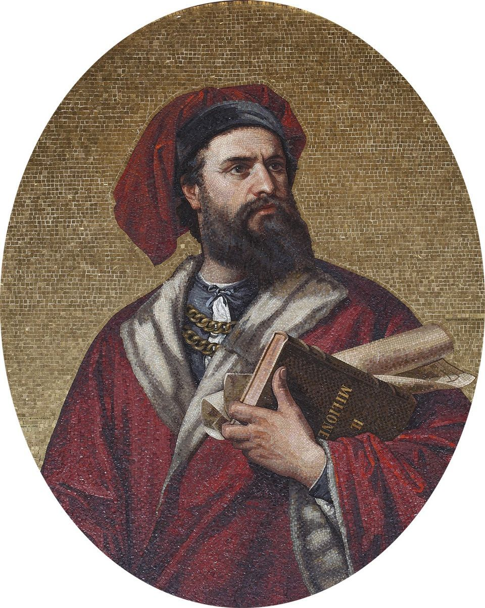 Marco Polo (c. 1254 – 1324), explorer and merchant, famous ...