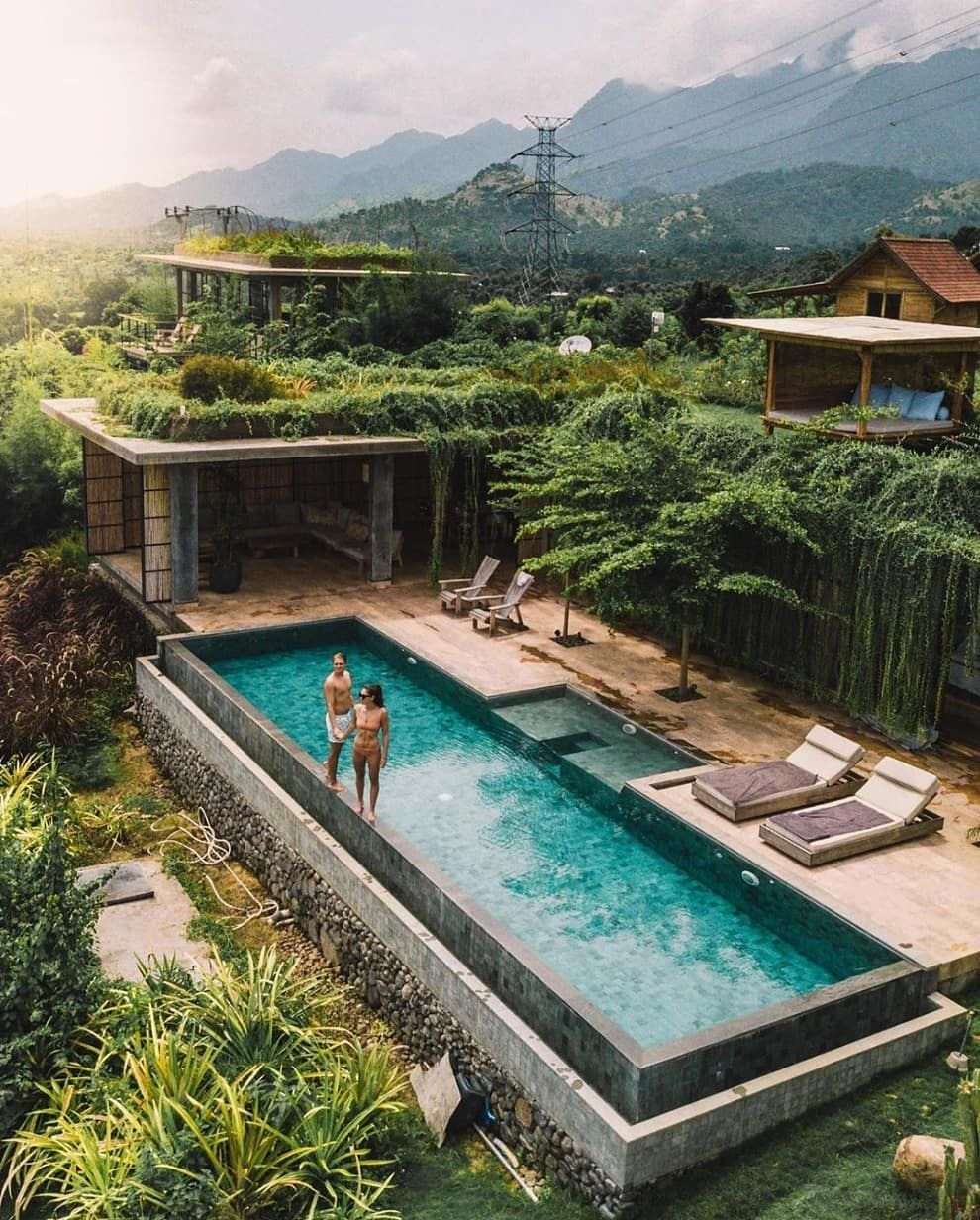 Villa Uma With Sea View Bali House Beautiful Villas Container House Plans