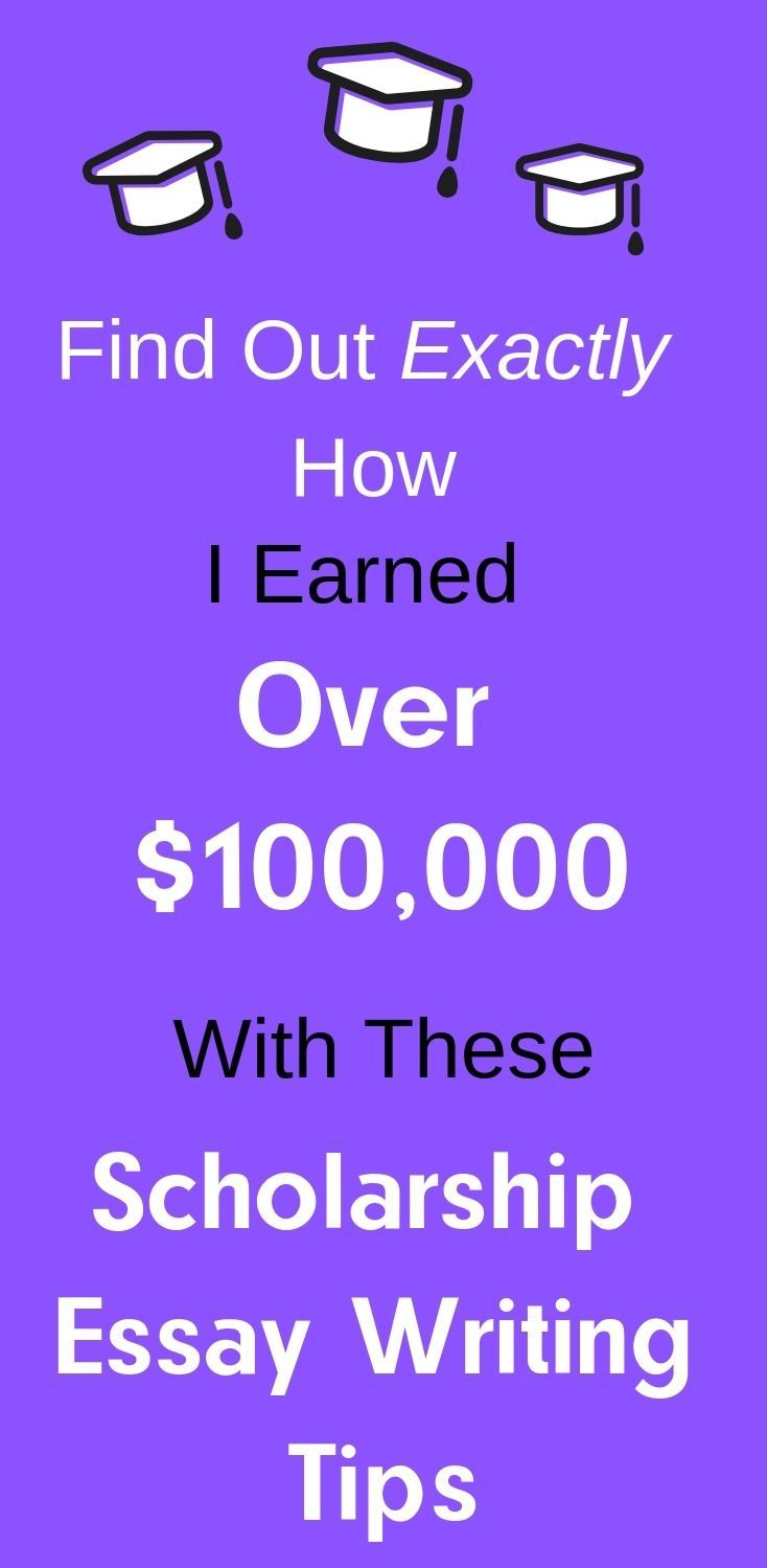 How to write the perfect scholarship essay scholarships