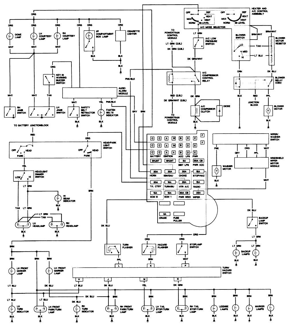 Inspirational 1993 Chevy S10 Wiring Diagram in 2020 ...