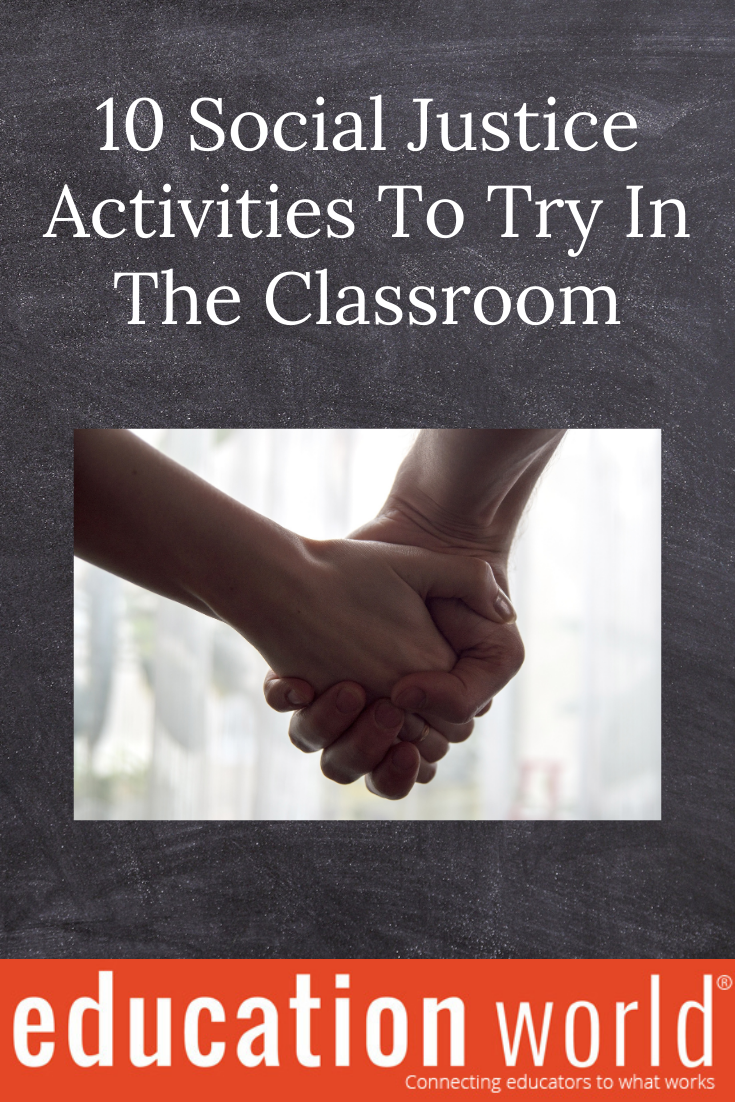 10 Social Justice Activities To Try In Class Teacher Lesson Plans Classroom Education Social Justice