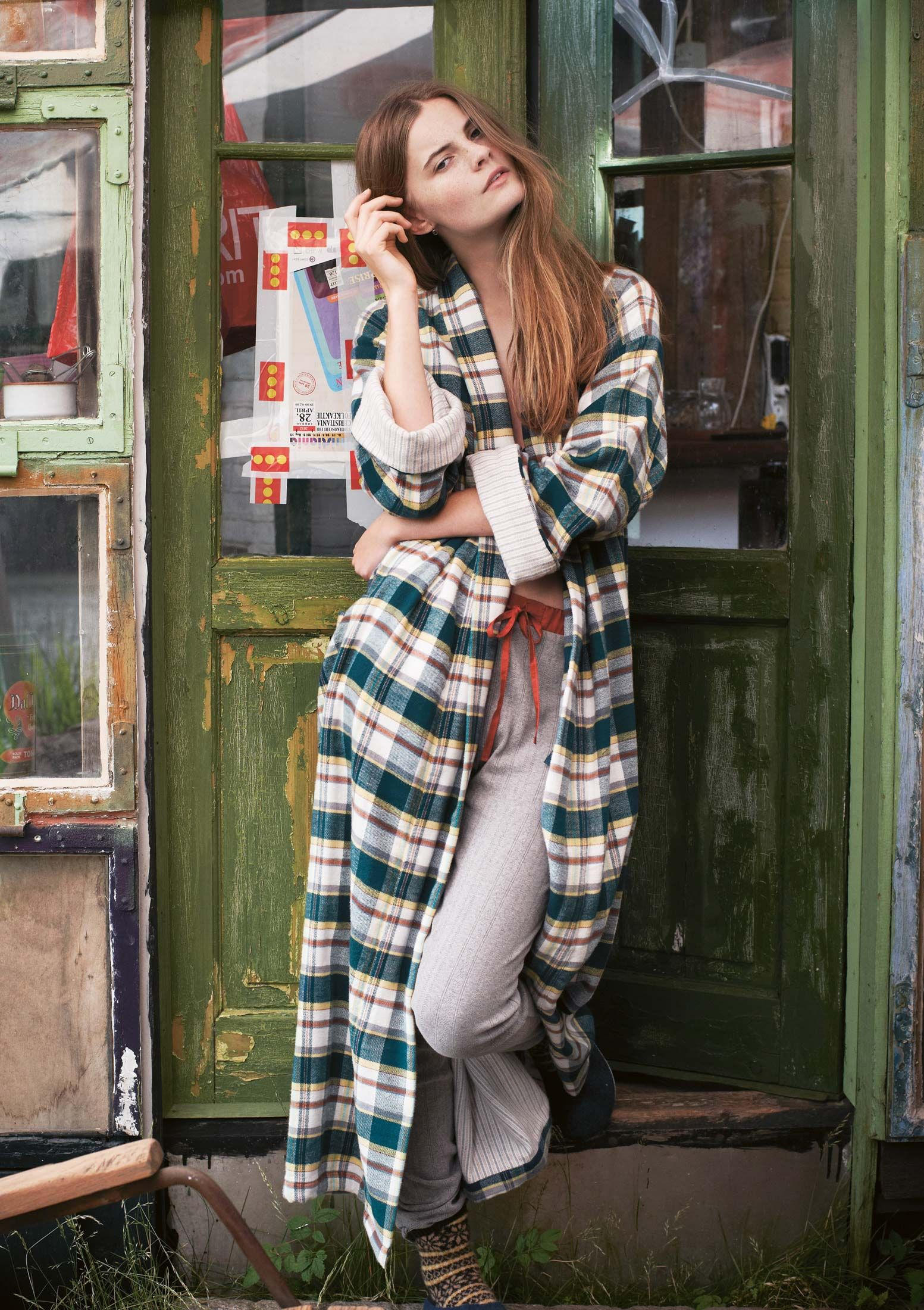 13e7d1d500 Love this robe. DOUBLE SIDED FLANNEL GOWN