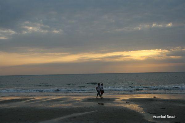 Arambol Beach. Goa, India