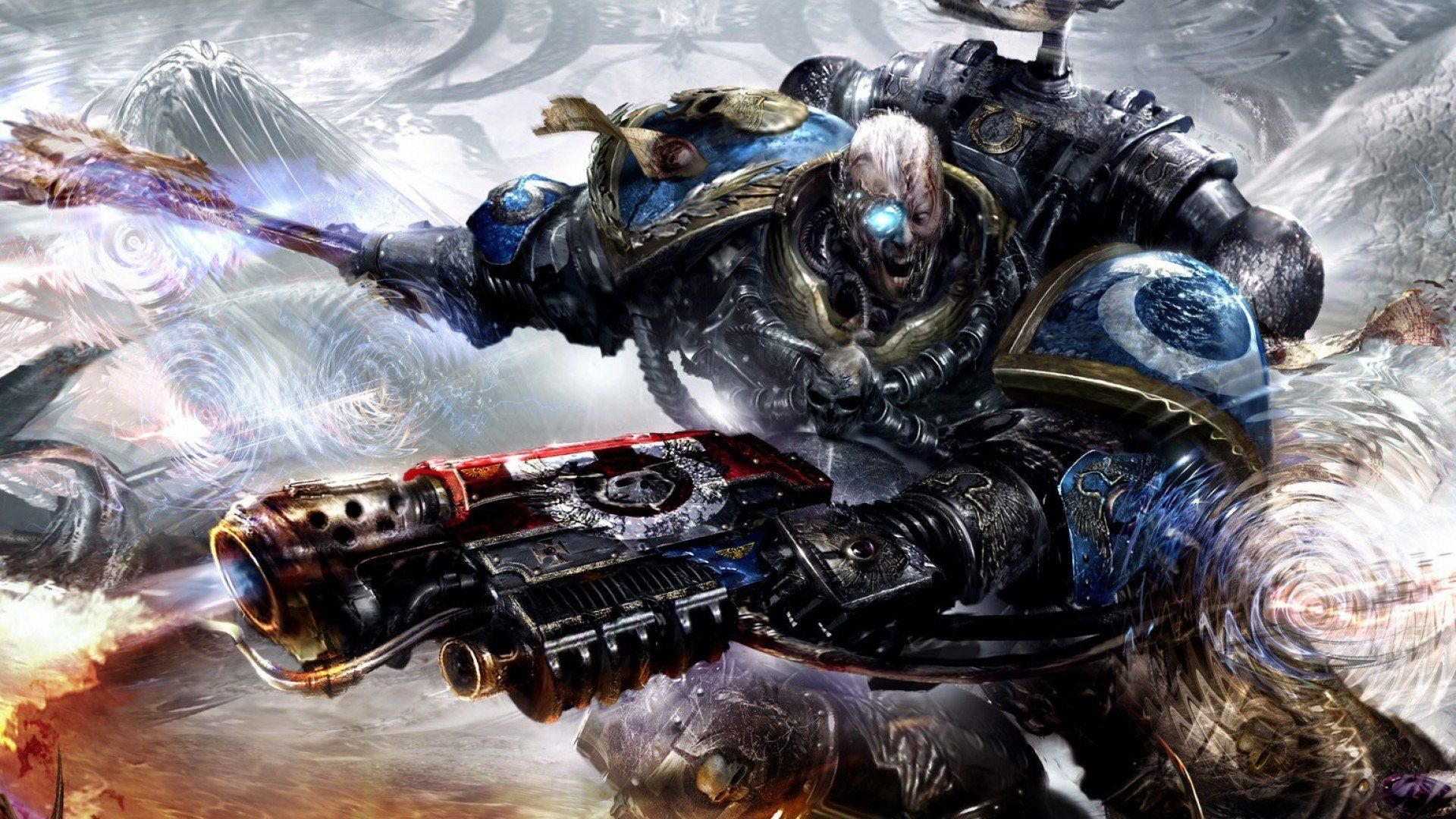 Space Marines Wallpaper Desktop Background In 2020 Warhammer 40k Artwork Warhammer 40k Space Marine Art