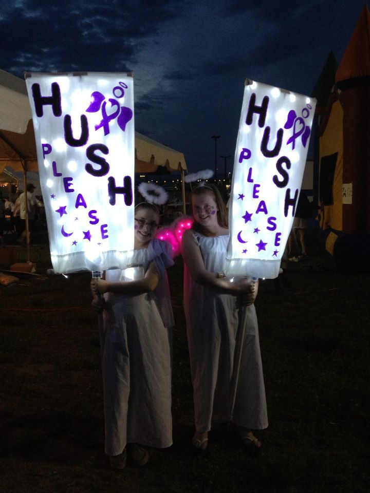 Hendersonville Nc Relay For Life Hush Angels Relay Relay For Life Luminary