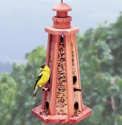 Best Cedar Bird Feeder Lighthouse Enjoying The Outdoors 400 x 300