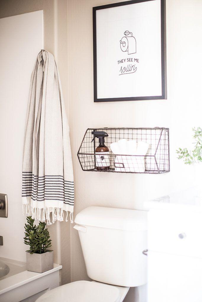 5 Small Bathroom Updates That Make An Impact House Pinterest