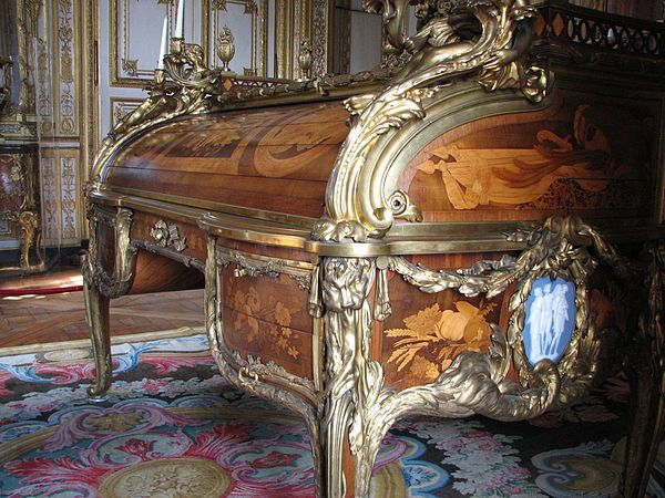 Bureau du roi louis xv style museum worthy piece for sale