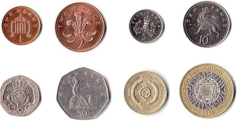 Pound Stirling Coins Collecting Coins Pinterest