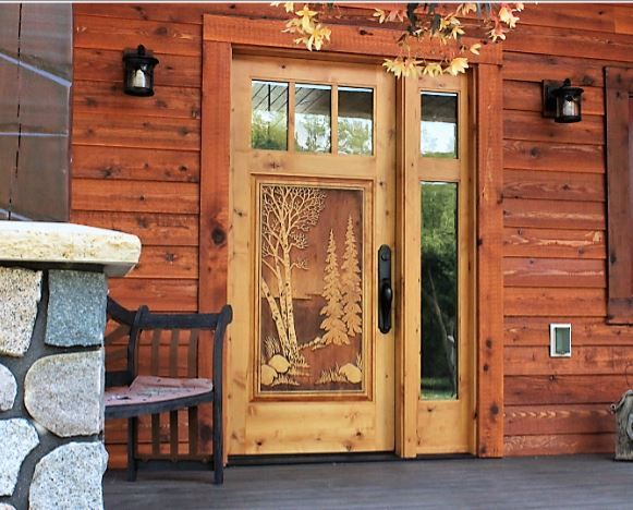 Pin by Great River Door Company on Carved wood doors ...