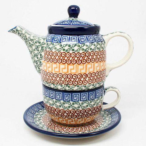 Amazing Authentic Polish Pottery Coffee U0026 Teapots   Polish Kitchen Online .