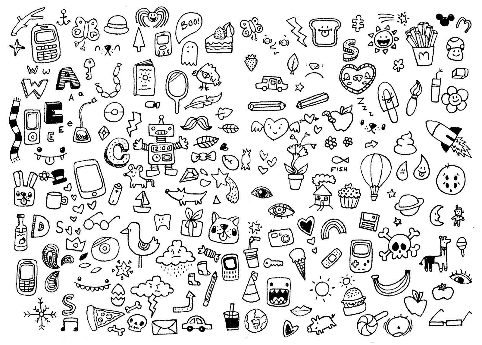 Doodles simple doodles cute easy doodles little doodles