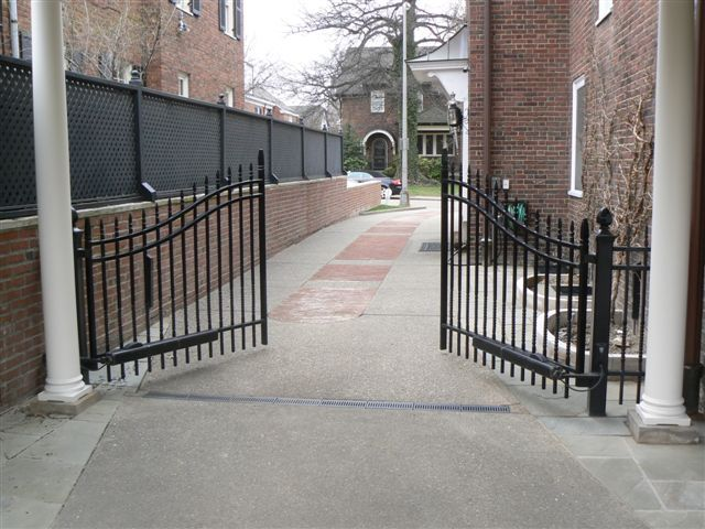 Ornamental Fencing In Michigan Steel And Aluminum