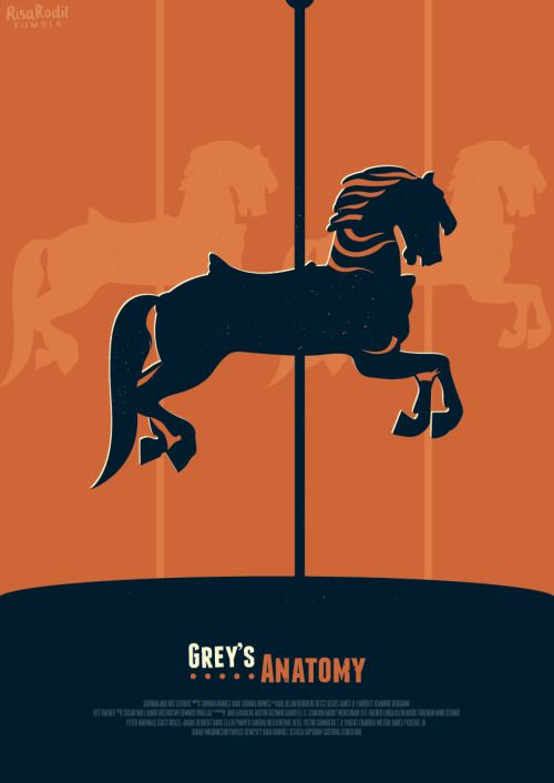 The carousel never stops turning - Grey\'s Anatomy Poster Series (8 ...