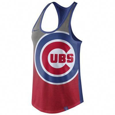 a50ac9d1c Women s Chicago Cubs Nike Red Tri-Fade Tank Top  chicagocubsbaseball ...