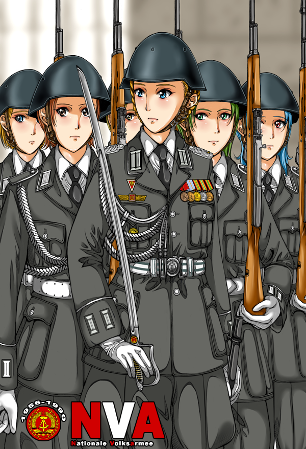 Die Nationale Volksarmee by otakumilitia East germany