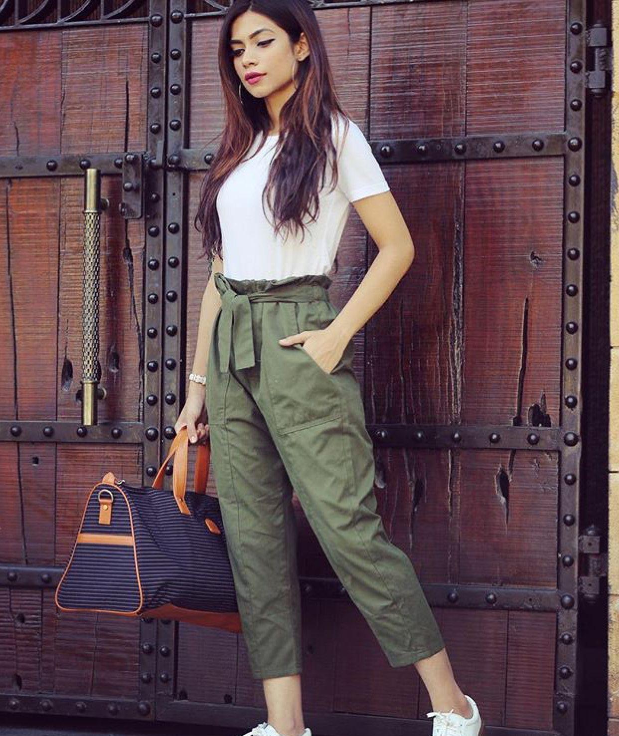 Pin by Punita Verma on иαgмα мιяαʝкαя  Trousers women outfit