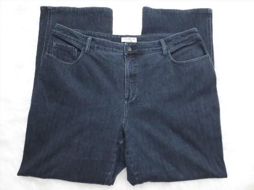 9.75$  Watch here - http://viznp.justgood.pw/vig/item.php?t=tm7p0253424 - Coldwater Creek Jean Size 18 Straight Classic Fit Denim Spandex Womens Jeans