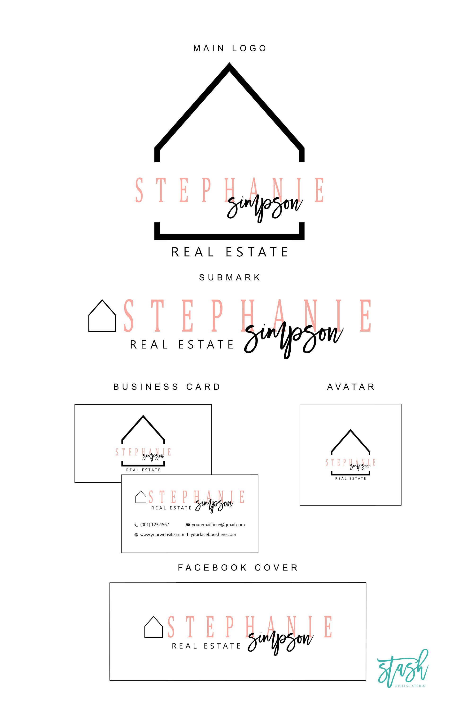 House Logo Realtor Logo Real Estate Logo Home Decor