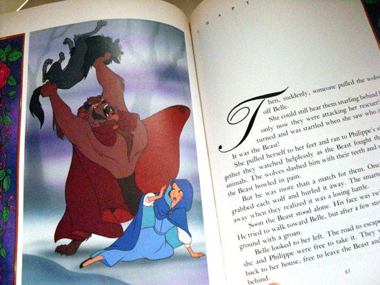 Beauty And The Beast Children S Book First Edition Disney Press