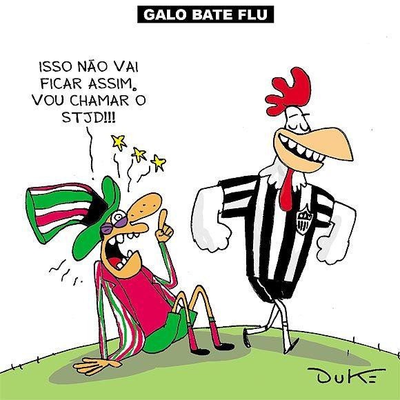 Atletico 2 X 0 Fluminense Fluminense Clube Atletico Mineiro Galo Volpi