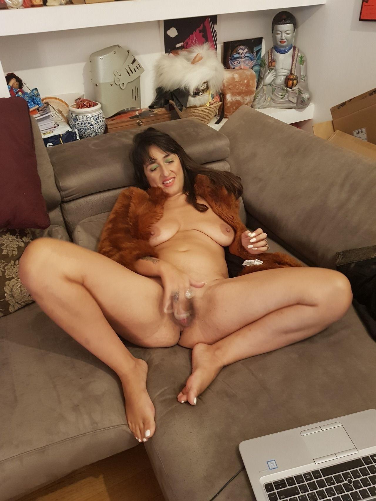 Huge plump natural boobs