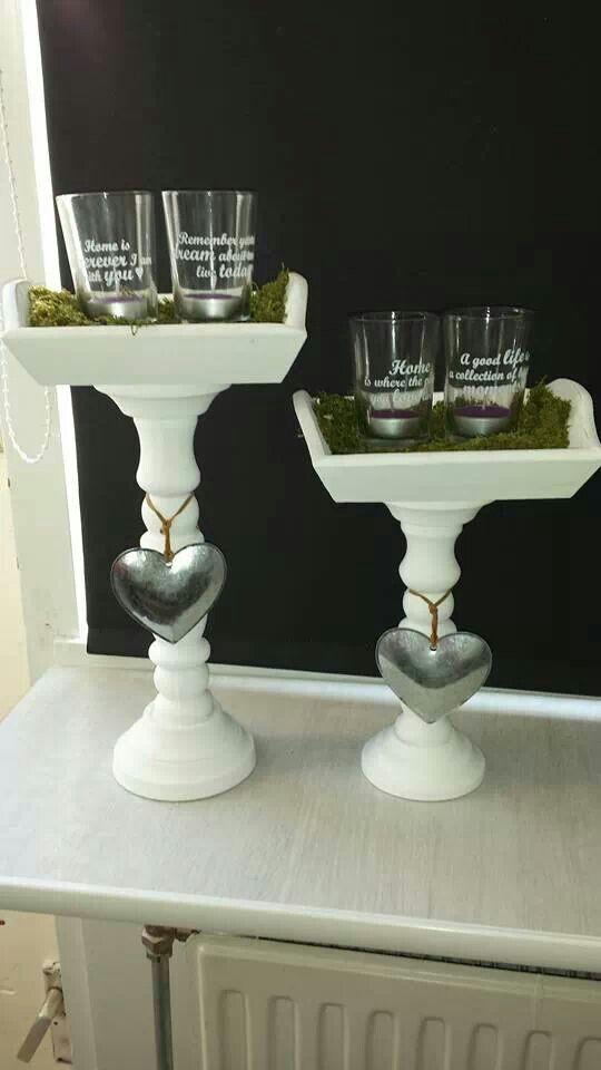 Leuk als decoratie kaarsenstandaard dienblad en for Decoratie spullen