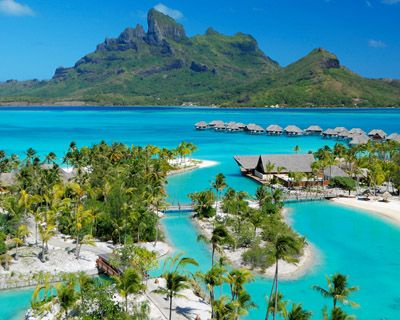 Bora Bora Tahiti Vacation Places Dream Vacation Spots