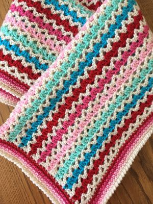 I have been wanting to make a granny and v-stitch blanket for a ...