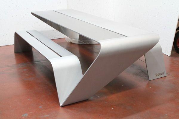 Urban furniture by Identiti Design Studio, via Behance Studios - como hacer bancas de madera para jardin