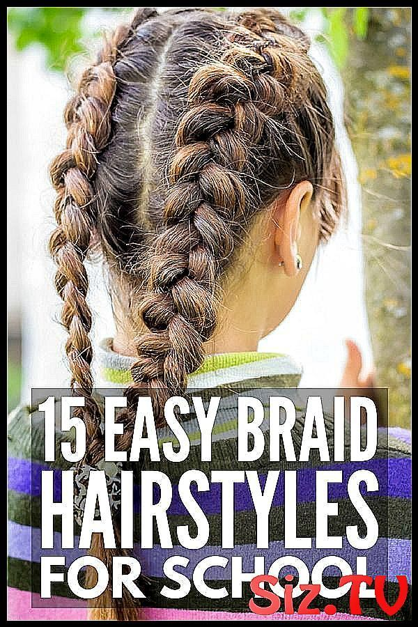 Braid Hairstyles for Kids: 15 Step-by-Step Tutorials to Inspire You 15 School Hairstyles for ...