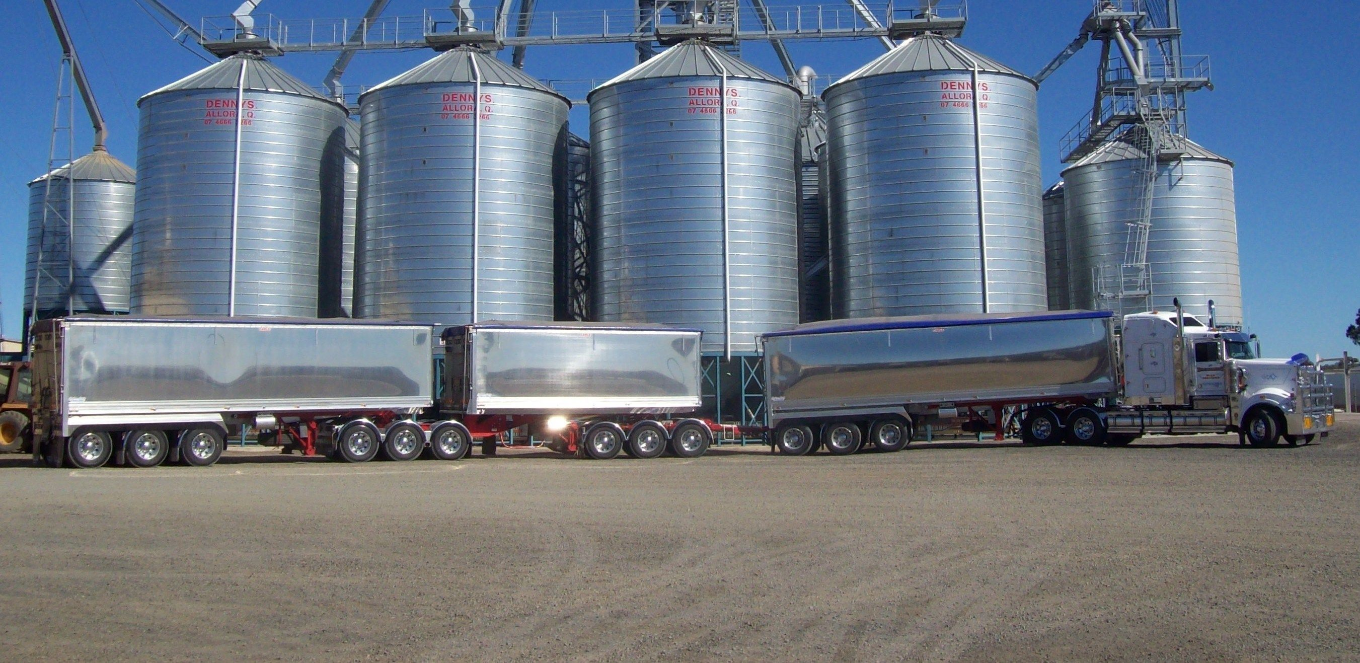 AB Triple Road Trains Gallery by Graham Lusty Trailers