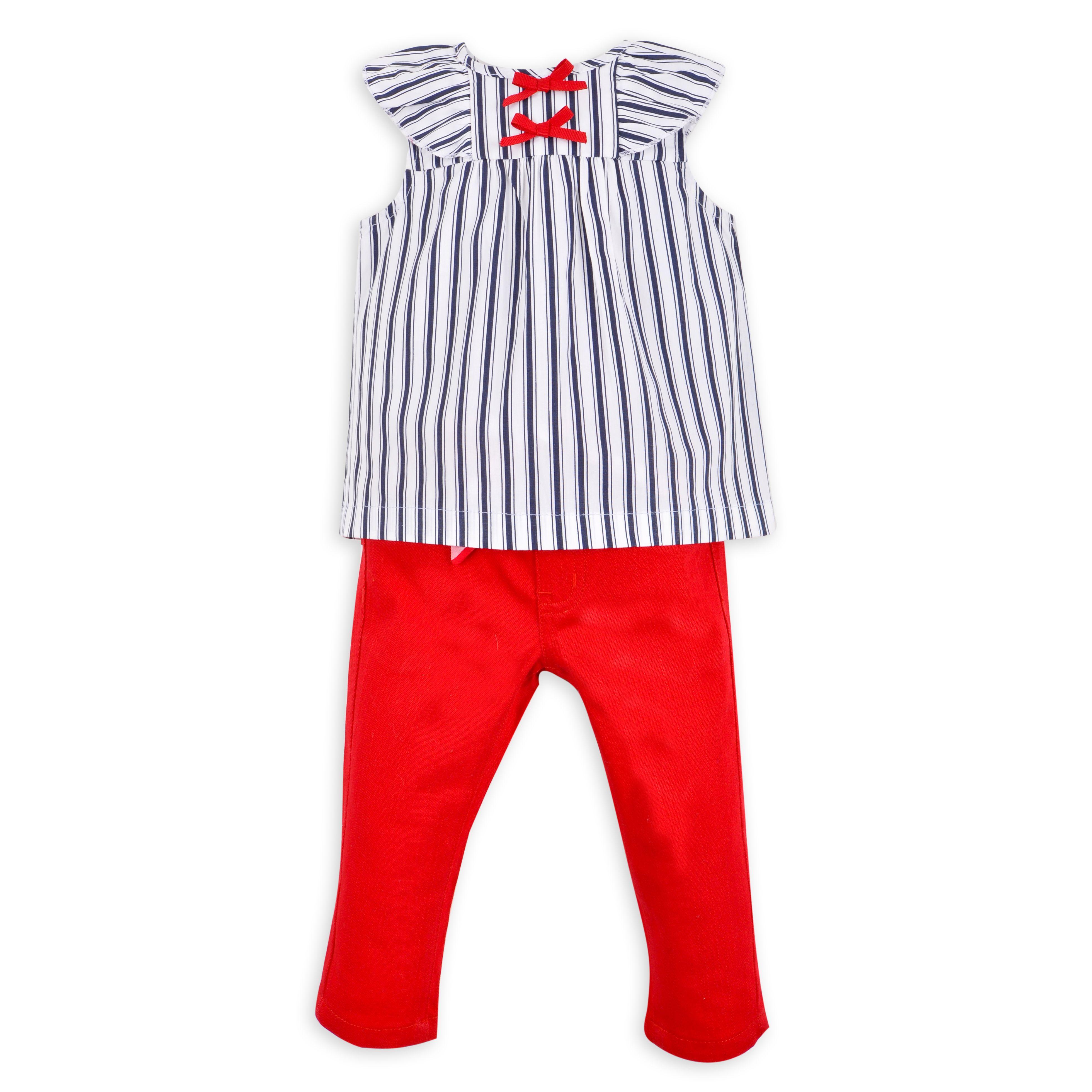 961e435e3 Blusa EPK para bebé niña, de rayas blancas y azul marino. | infantil ...