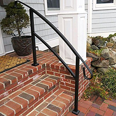 Best Railing Now Midway 4Ft Transitional Handrail Matte 640 x 480