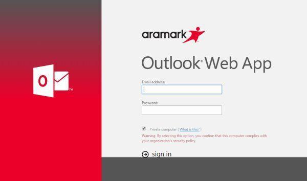 Aramark Webmail Login Login Webmail, Login