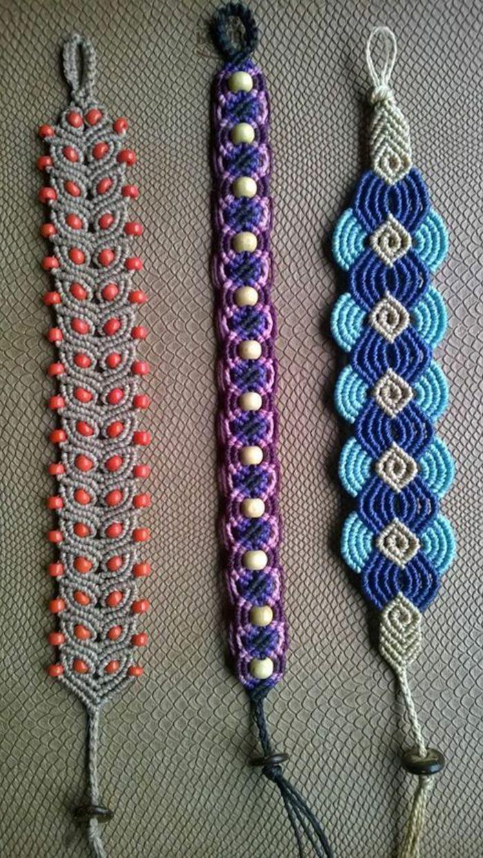 eededb966061 pulseras-macrame -diferentes-diseños-y-colores-elegantes-femeninos-fácil-de-hacer