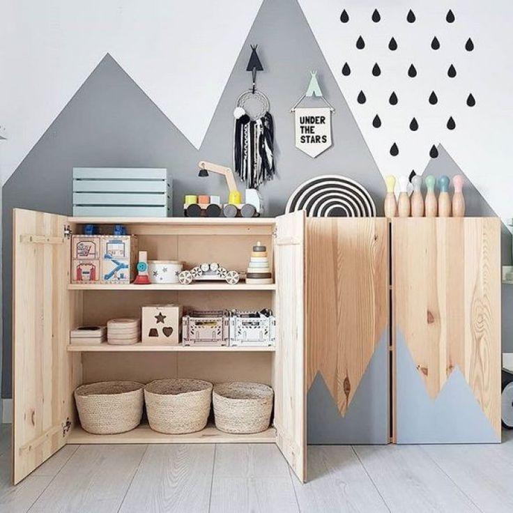10 MÖGLICHKEITEN IKEA IVAR IM KINDERZIMMER ZU VERWENDEN #zimmer+deko