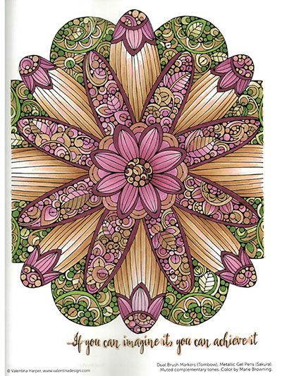 Creative Coloring: Mandala Expressions | crafts in 2019 ...