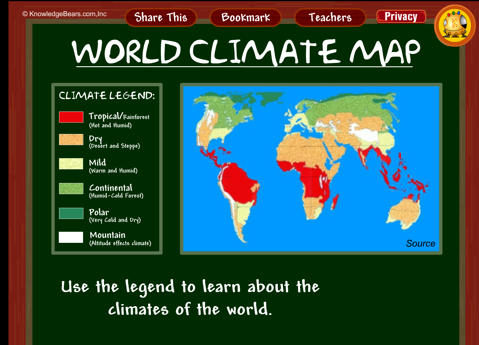 World climate map httpkbearsclimatesml geography world climate map httpkbearsclimatesml gumiabroncs Image collections